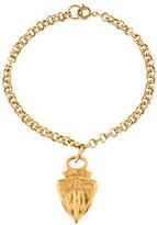 Gucci Crest Charm Bracelet