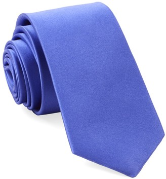 The Tie BarThe Tie Bar Periwinkle Solid Satin Tie