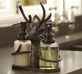 Pottery Barn North Pole Reindeer Soap/Lotion Caddy