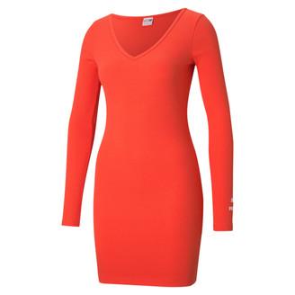 Puma Classics Women's Ribbed Bodycon Dress