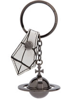 Vivienne Westwood orb keychain - women - Leather/metal - One Size