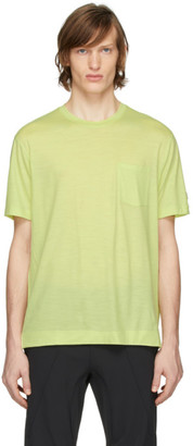 Ermenegildo Zegna Yellow Merino Tech T-Shirt