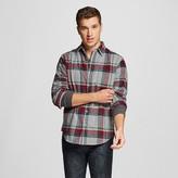 Merona Men's Crepe Flannel Shirt Gray