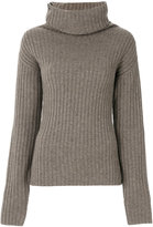 Joseph roll-neck ribbed sweater