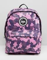 Hype Colourful Camo Backpack