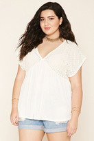 Forever 21 FOREVER 21+ Plus Size Lace Top