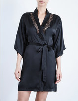 Heidi Klum Intimates Sublime Ribelle stretch-silk robe