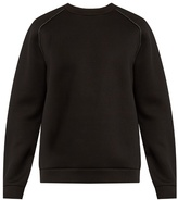 Alexander Wang Raglan-sleeved Neoprene Sweatshirt