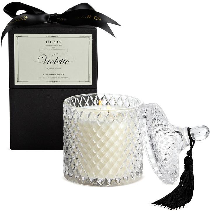 D.L. & Co. Parlour Collection Violette Candle (14 OZ)