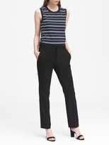 Banana Republic Ryan Slim Straight-Fit Lightweight Wool Pant