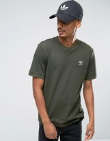 Adidas Originals Fallen Future T-shirt In Khaki Br1811