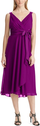Chaps Women's Fit And Flare Dress