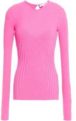 Carolina Herrera Ribbed-knit Top