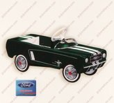 Hallmark 1964 1/2 Ford Mustang Limited Quantity 2007 Colorway Green QXE9149 by