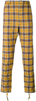 Faith Connexion checked trousers - men - Cotton/Spandex/Elastane - S