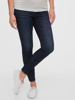 Gap Maternity Inset Panel Skinny Jeans