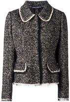 Dolce & Gabbana tweed jacket - women - Cotton/Polyamide/Spandex/Elastane/Silk - 40