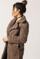 Azalea Fluffy Overcoat