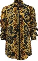Versace Long Sleeve Print Blouse
