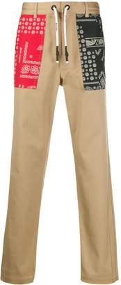 Palm Angels bandana pockets chino trousers