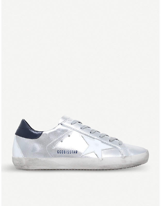 Golden Goose Superstar E71 leather trainers