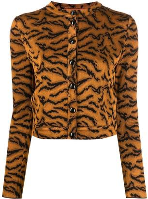 Missoni Tiger Pattern Cardigan