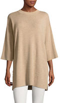 Eileen Fisher Mock Neck Merino Wool Tunic