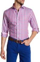 James Tattersall Plaid Long Sleeve Classic Fit Shirt