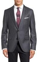 BOSS Men's Jayson Trim Fit Houndstooth Wool Sport Coat