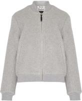 Acne Studios Azura Blanket wool-blend bomber jacket