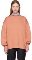 Acne Studios Pink Yana Logo Sweatshirt
