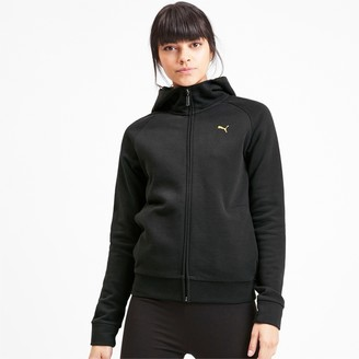 Puma Athletics Women's Full Zip Fleece Hoodie