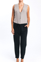 Karen Zambos James Jumpsuit in Stone