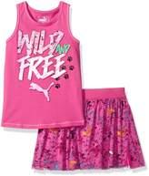 Puma Baby Toddler Girls' Top and Tulle Skort Set