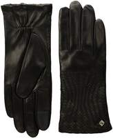 Cole Haan Genevieve Woven Gloves Dress Gloves