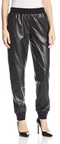 BCBGMAXAZRIA Women's Sugi Faux Leather Soft Pant