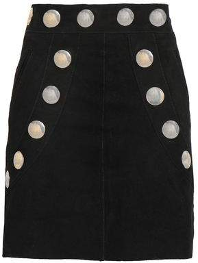 Antik Batik Studded Suede Mini Skirt