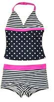 Osh Kosh OshKosh Big Girls' Two Piece Halter Tankini With Swim Short