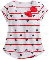 Disney Minnie Mouse Icon Nautical Fashion Tee for Women by Boutique