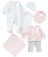 Starting Out Baby Girls Newborn-6 Months Bunny and Bird 7-Piece Layette Set