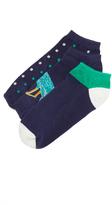 Kate Spade Regal Peacock Sock Set