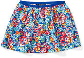 Ralph Lauren Floral Twill Pull-On Skirt