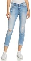 Mavi Jeans Ada Grommet Slim Jeans in Eyelet - 100% Exclusive