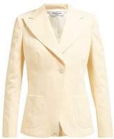 Françoise Francoise - Single-breasted Cotton Blazer - Womens - Cream