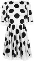 Dolce & Gabbana polka dot dress - women - Silk/Cotton/Polyamide/Spandex/Elastane - 38
