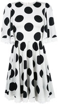 Dolce & Gabbana polka dot dress - women - Silk/Cotton/Polyamide/Spandex/Elastane - 40