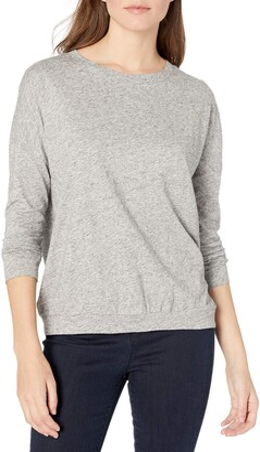 Goodthreads Amazon Brand Women's Vintage Cotton Dolman Blouson Shirt