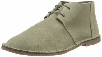 Clarks Women's Erin Craft Desert Boots Green (Olive Suede 4 UK