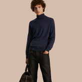 Burberry Merino Wool Roll-neck Sweater