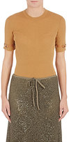 Nina Ricci Women's Rib-Knit Wool-Silk Top